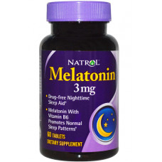 Natrol Melatonin 3mg 60т